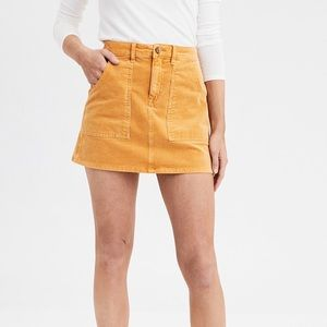 American Eagle corduroy mini skirt with pockets